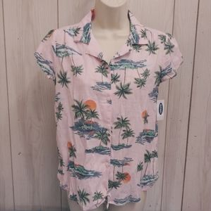 Girl's Old Navy Shirt. Size XL 14